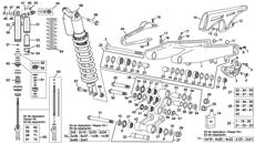 Amortiguador-basculante Enduro 4T