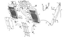Radiador-escape Enduro 4T